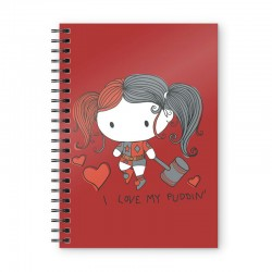 Notebook DC Comics - Harley...