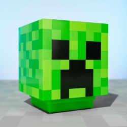 Candeeiro Minecraft - Creeper