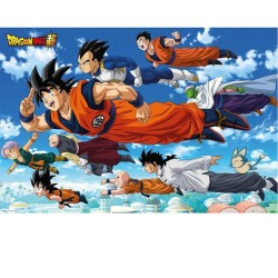 POSTER DRAGONBALL SUPER FLYING