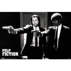 Poster Pulp Fiction Divine...