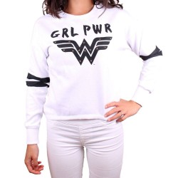 Wonder Woman Sweatshirt Grl...