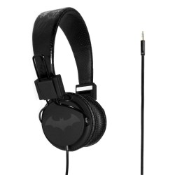 Headphones - Batman Black Logo