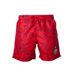 Nintendo - Red Mario Swimshort