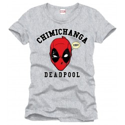 T-Shirt Deadpool - Chimichanga