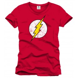 T-Shirt Flash - Logo red