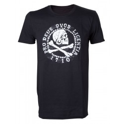 T-Shirt Uncharted 4 - Skull...