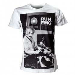 T-Shirt Einstein - Run Emc