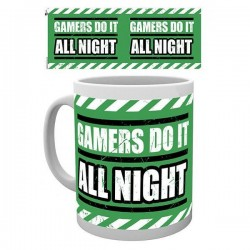Caneca Gamers Do It All Night