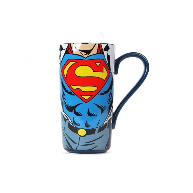 caneca superman latte macchiato super strength. Black Bedroom Furniture Sets. Home Design Ideas