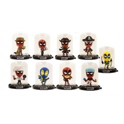 Mini Figuras Deadpool Domez...