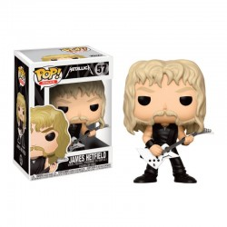 Pop Figure Metallica -  James Hetfield