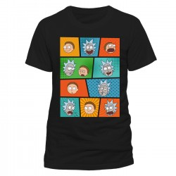 T-Shirt Rick and Morty -...