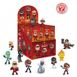 Mini Figuras Mistério Incredibles