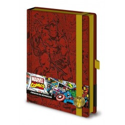 Notebook Marvel Comics...