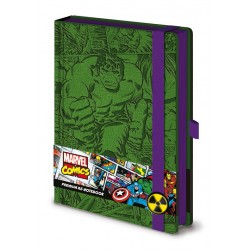 Notebook Premium Marvel Comics - Retro Hulk