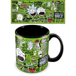 Mega Caneca Rick and Morty...