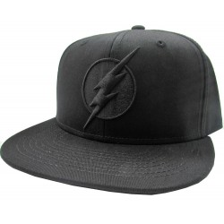 Cap The Flash - Black On Black