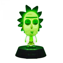 Rick & Morty 3D Icon Light...