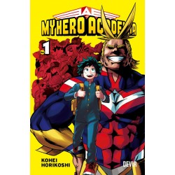 Mangá My Hero Academia Volume 1