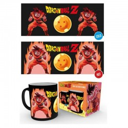 Caneca Dragonball Z Heat Change - Super Saiyan