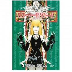 Mangá Death Note 04: Amor