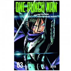 Mangá One-Punch Man 03