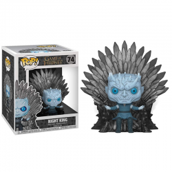Pop Figure Night King on Iron Throne - Game of Thrones Deluxe