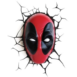 Candeeiro 3D Marvel - Deadpool