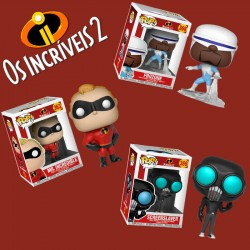 Pack Incredibles 2 - Opção2