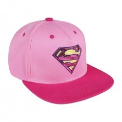 Cap Superman Pink - DC Comics