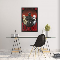 Poster STAR WARS Enlist Now