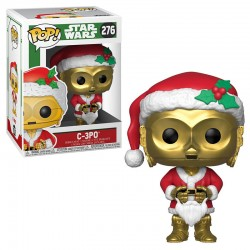 Pop Figure Star Wars Bobble-Head - Holiday Santa C-3PO