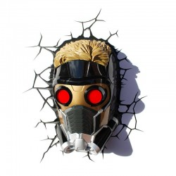 Candeeiro Star-Lord Mask 3D...