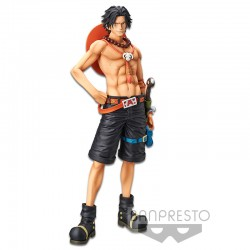 Estátua Portgas D. Ace Grandista The Grandline Men - One Piece