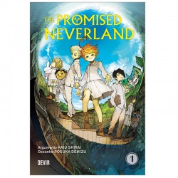 The Promised Neverland 01 - A Casa de Grace Field