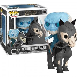 Mega Pop Figure White Walker on Horse - Game of Thrones