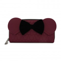 Carteira Dark Red Mickey Mouse by Loungefly