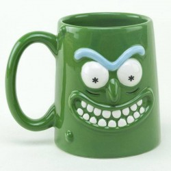 Caneca Pickle Rick 3D  - Rick and Morty