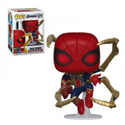 Pop Figure Iron Spider with...