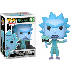 Pop Figure Hologram Rick...