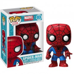 Pop Figure Spider-Man - Marvel Universe (Bobble-Head)