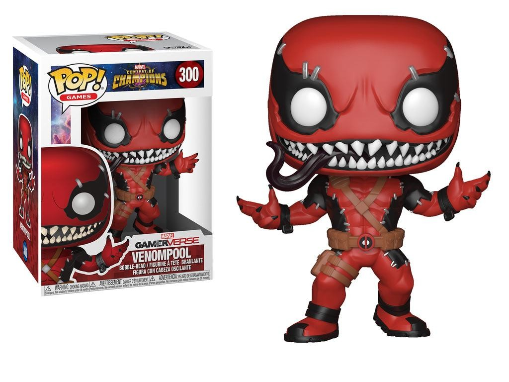 Pop Figure Marvel Contest of Champions - Venompool (Venomized Deadpool)