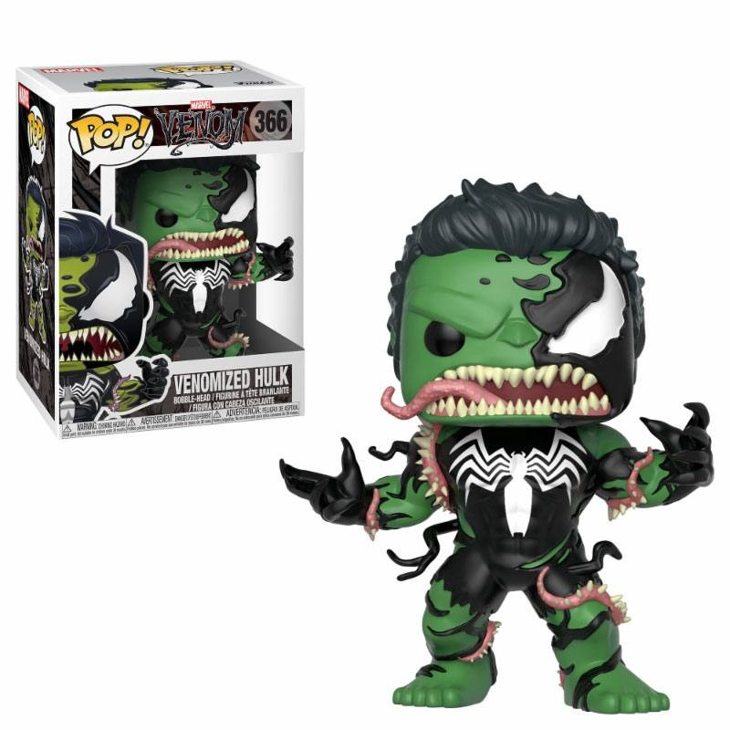 Pop Figure Marvel - Venomized Hulk